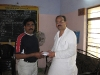 Donating funds raised in 2010 Fundraising Campaign